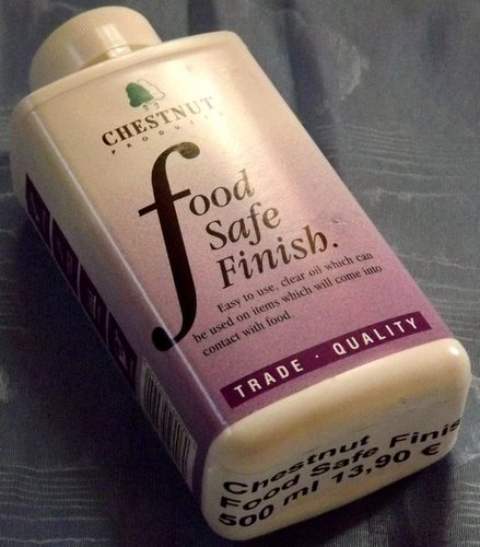 Chestnut Food Safe Finish 500 ml