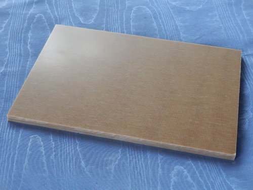 Canvas Micarta sand Platte 9x160x240 mm