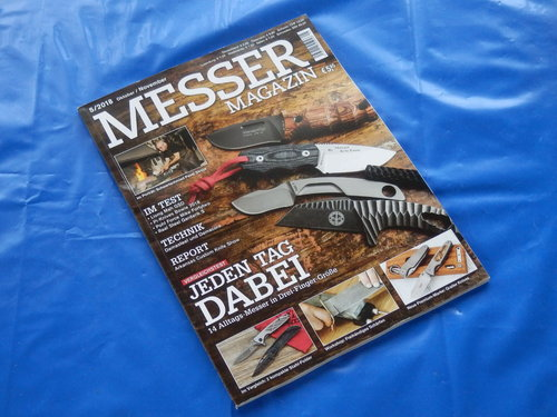 Messer-Magazin - Ausgabe 5/2018 (Oktober / November)